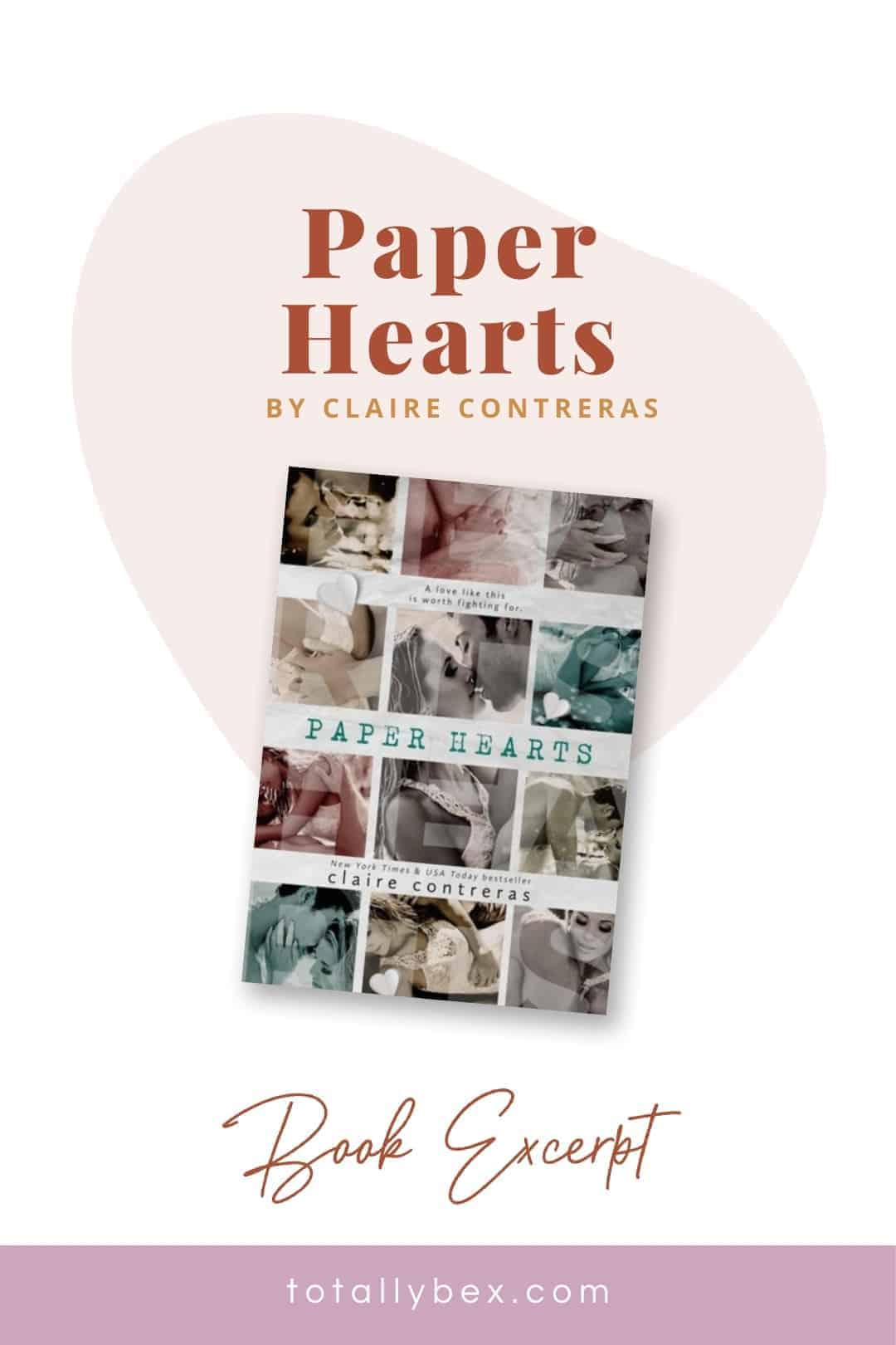 Paper Hearts by Claire Contreras-Pinterest