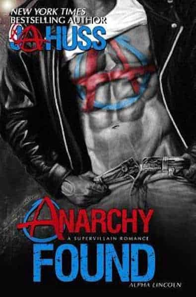 Anarchy Found by J.A. Huss-new cover