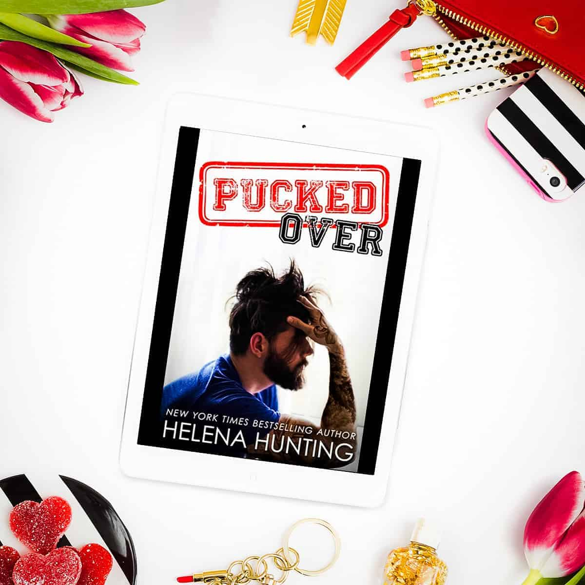 Pucked Over by Helena Hunting is the majorly sweet, delightfully swoony, slightly emotional, and sometimes endearingly silly third book in the Pucked series.