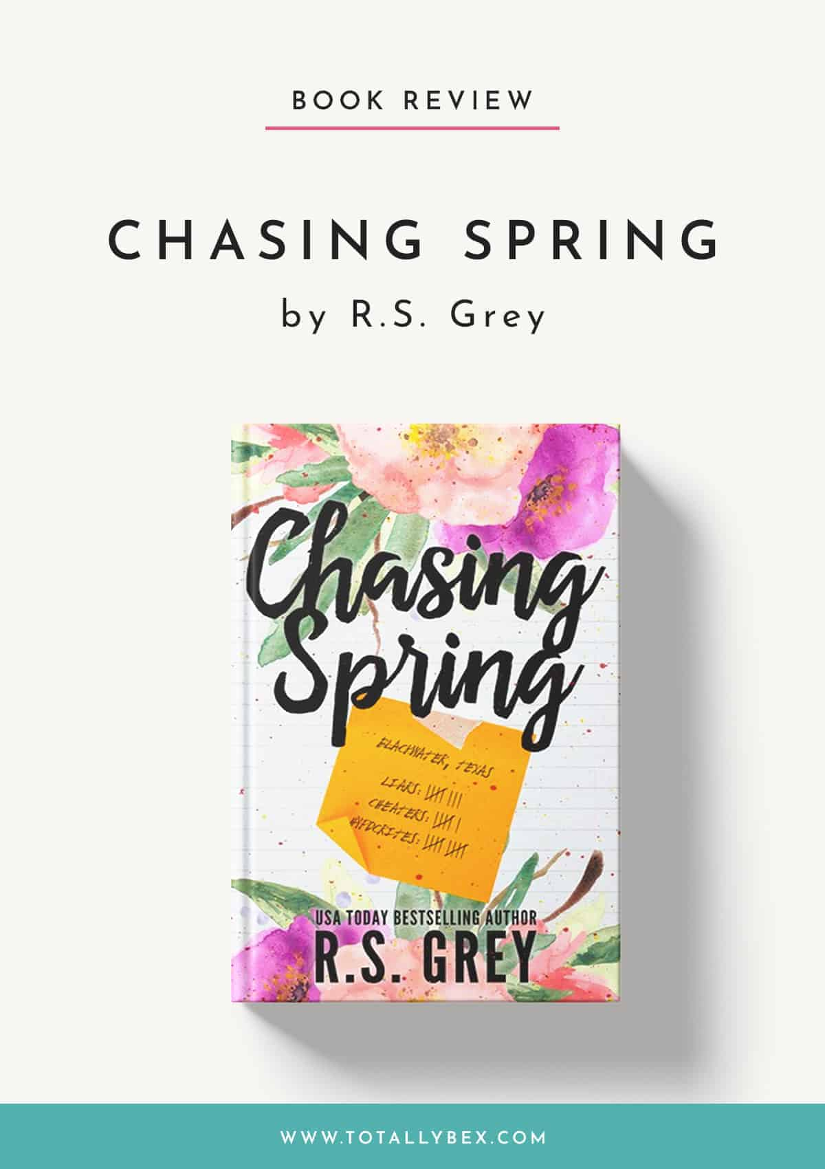 Chasing Spring by RS Grey-Book Review