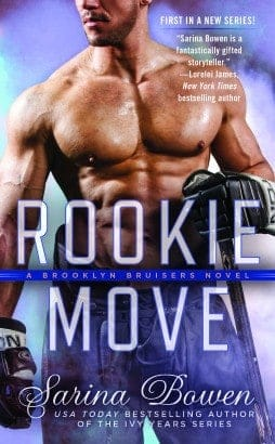 Cover Reveal + Pre-Order + Giveaway: Rookie Move by Sarina Bowen
