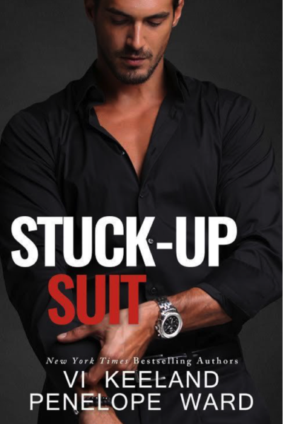 Cover Reveal: Stuck-Up Suit by Penelope Ward and Vi Keeland