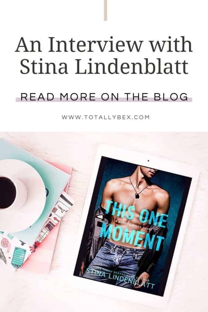 Interview with Stina Lindenblatt-This One Moment-Pinterest