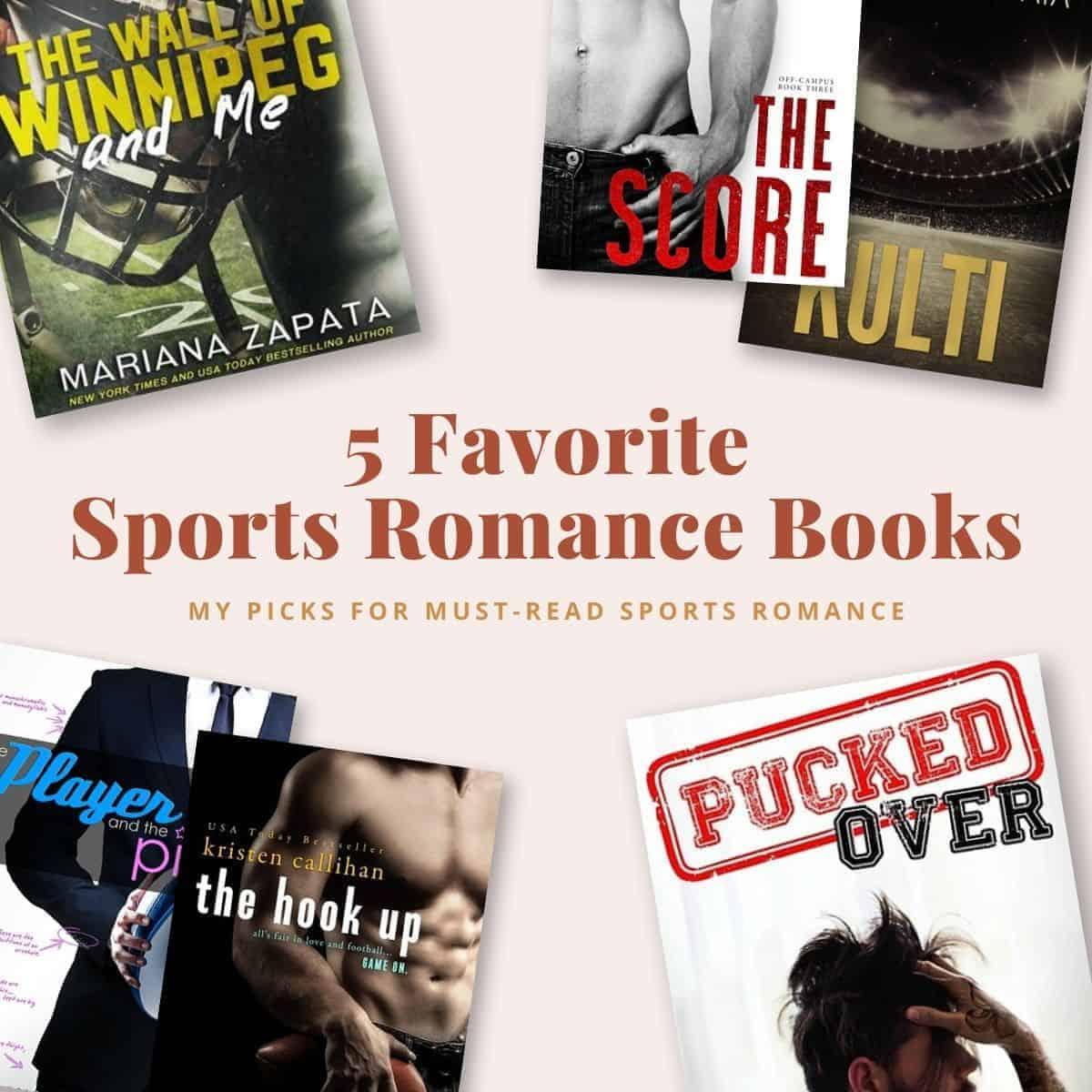 5 Favorite Sports Romance Books-featured