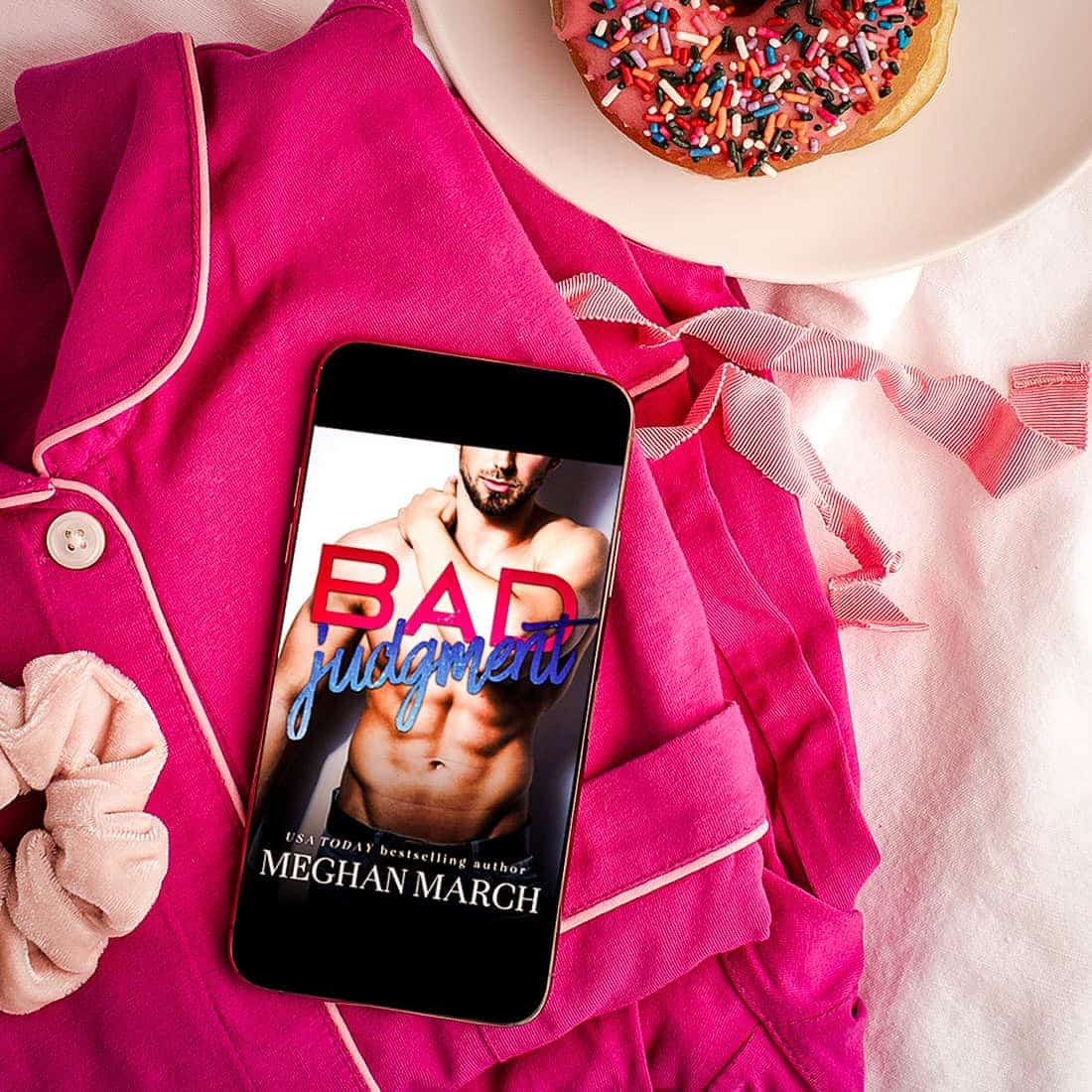 Bad Judgment by Meghan March is a quick and steamy enemies-to-lovers romance with loveable characters, a cat-and-mouse chase, a few twists, and lots of heart.