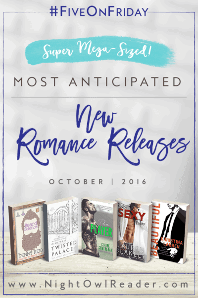 #FiveOnFriday: Most Anticipated New Romance Releases (October)