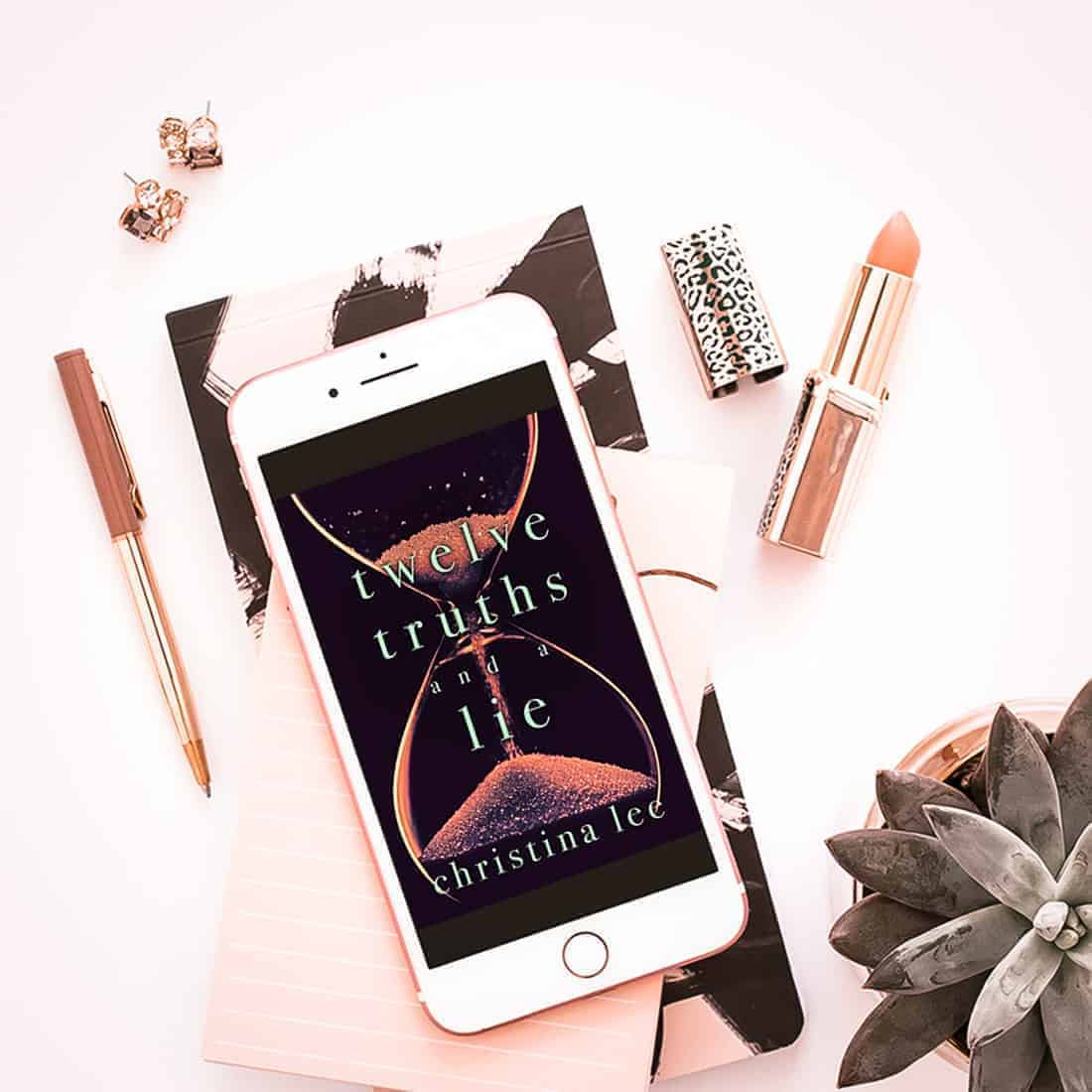 Enjoy this excerpt from Twelve Truths and a Lie by Christina Lee, a contemporary romance about a couple who discover love through 12 monthly meetups