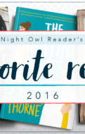 Favorite Romance Books of 2016 | Night Owl Reader Romance Book Blog