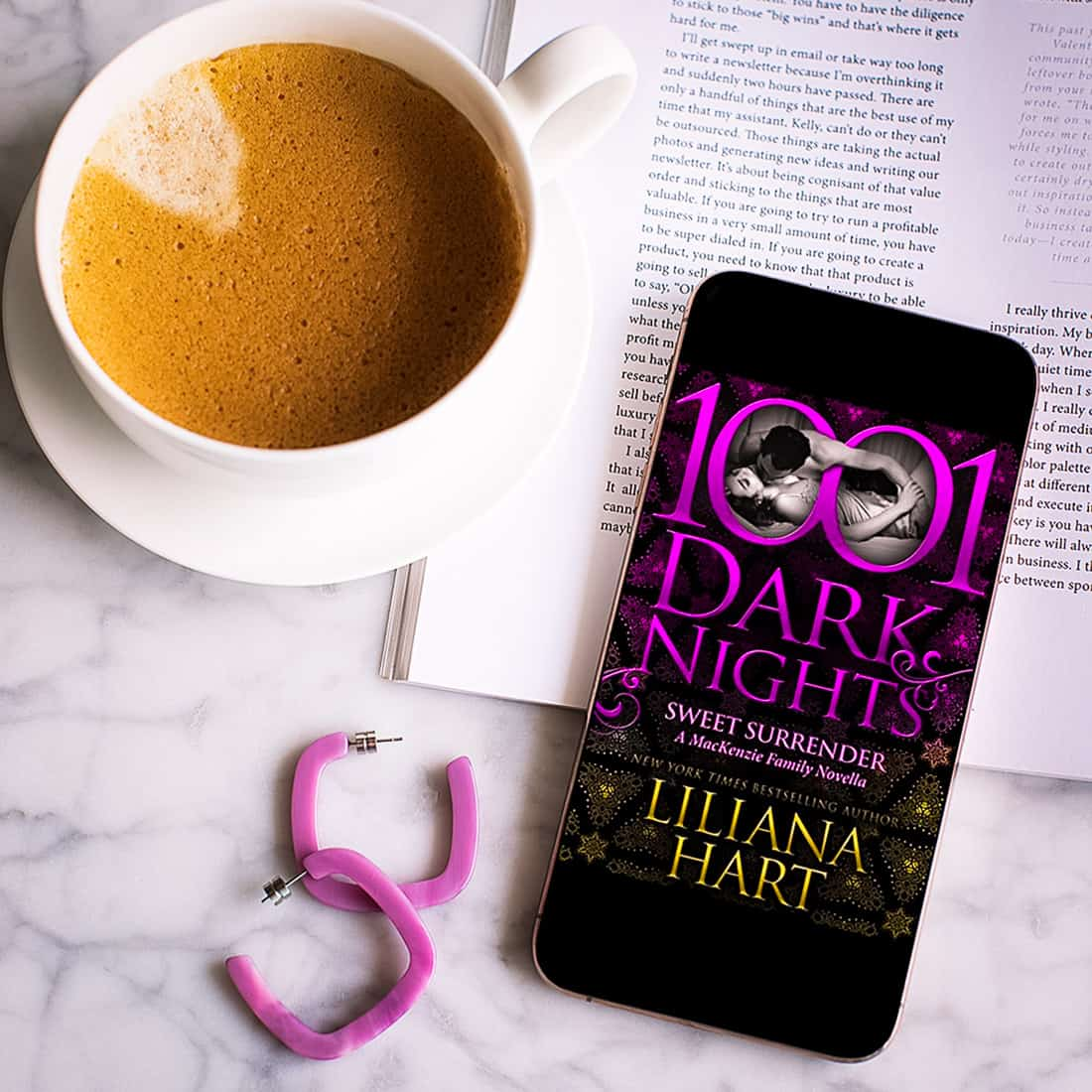 Read an excerpt from Sweet Surrender by Liliana Hart, book #11.5 of the Mackenzie Family series and part of the 1001 Dark Nights family of novellas