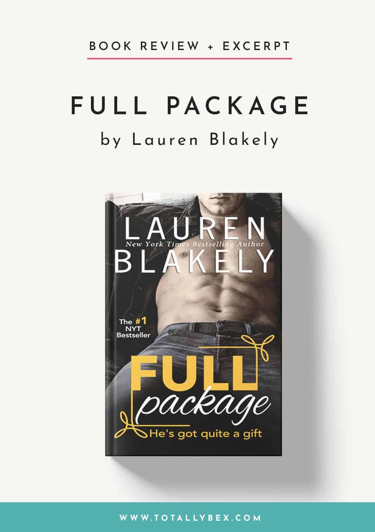 Full Package by Lauren Blakely-Book Review+Excerpt