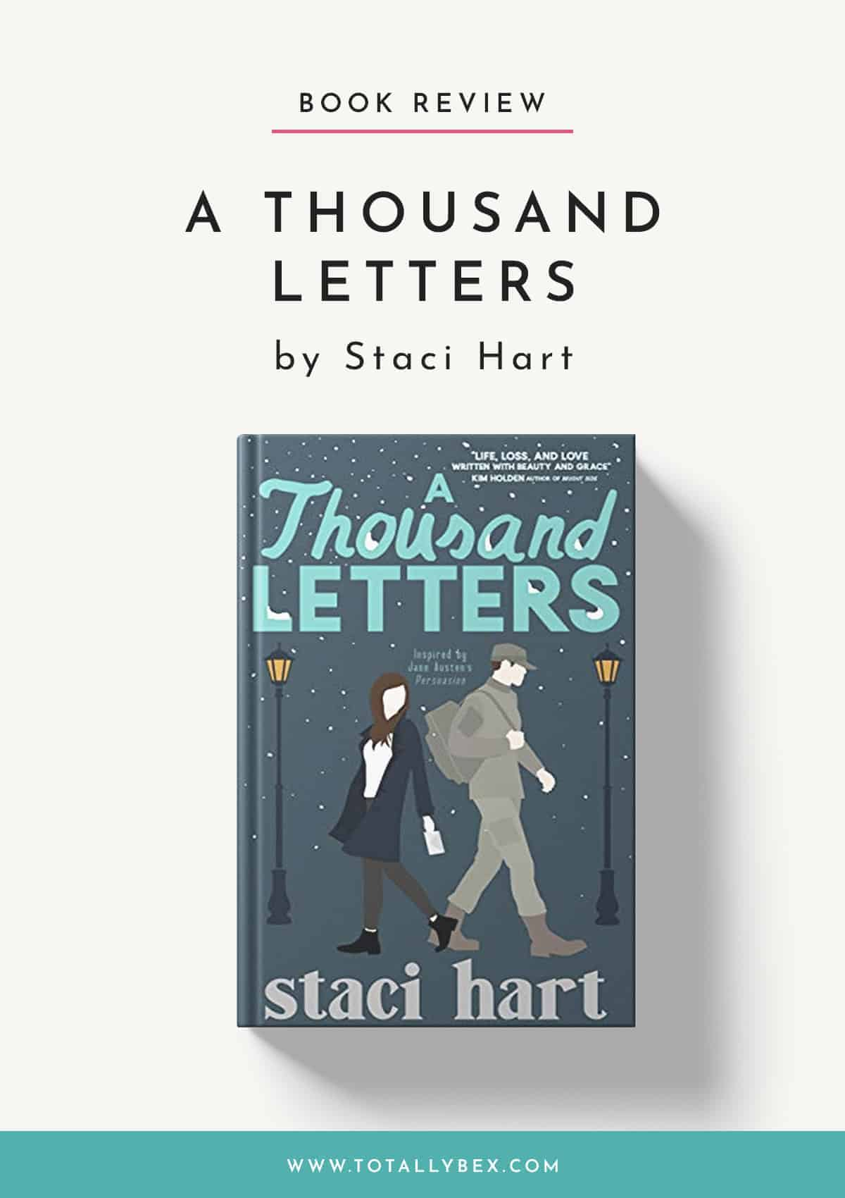 A Thousand Letters by Staci Hart-Book Review