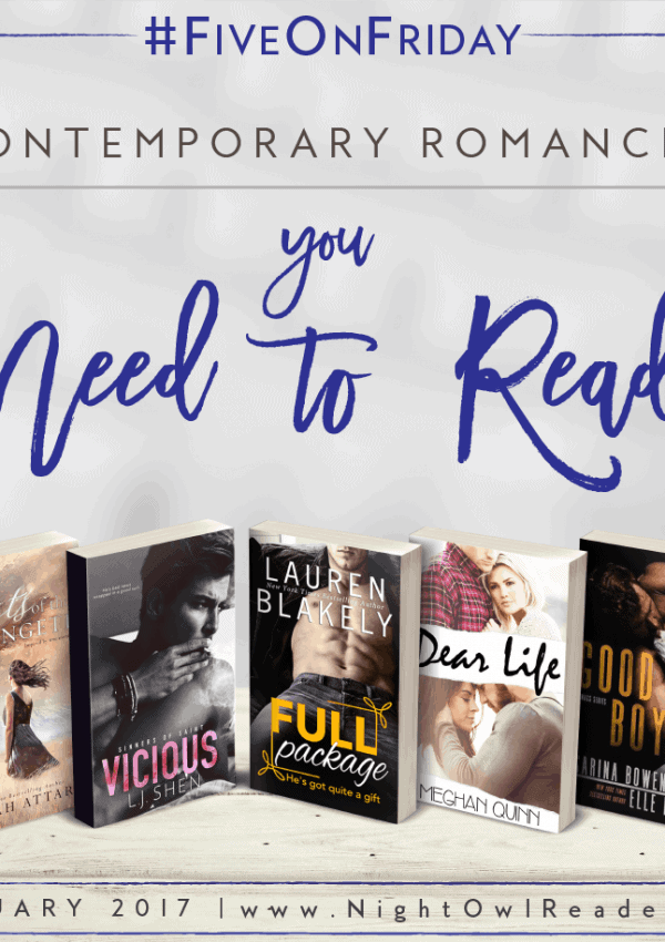 #FiveOnFriday: 5 Contemporary Romances You Need To Read