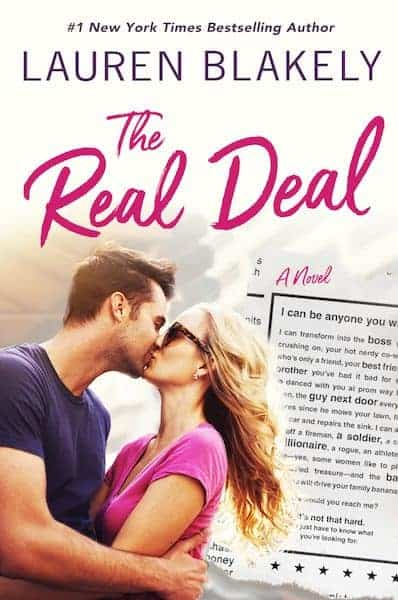 'The Real Deal' by Lauren Blakely — A new romance coming July 2018!