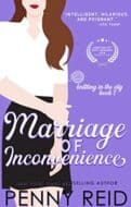 Marriage of Inconvenience by Penny Reid-new cover