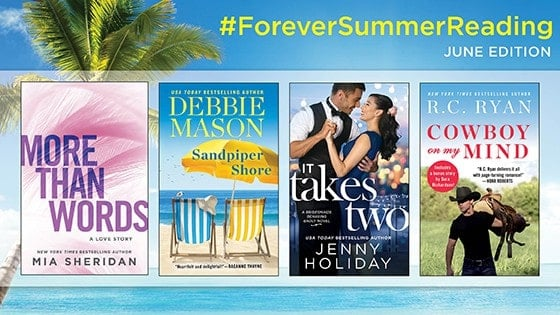 #ForeverSummerReading with Mia Sheridan: What's in Her Beach Bag?