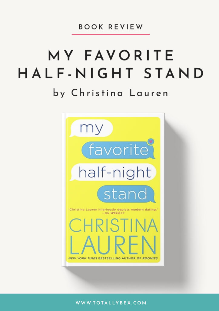 My Favorite Half-Night Stand-Book Review