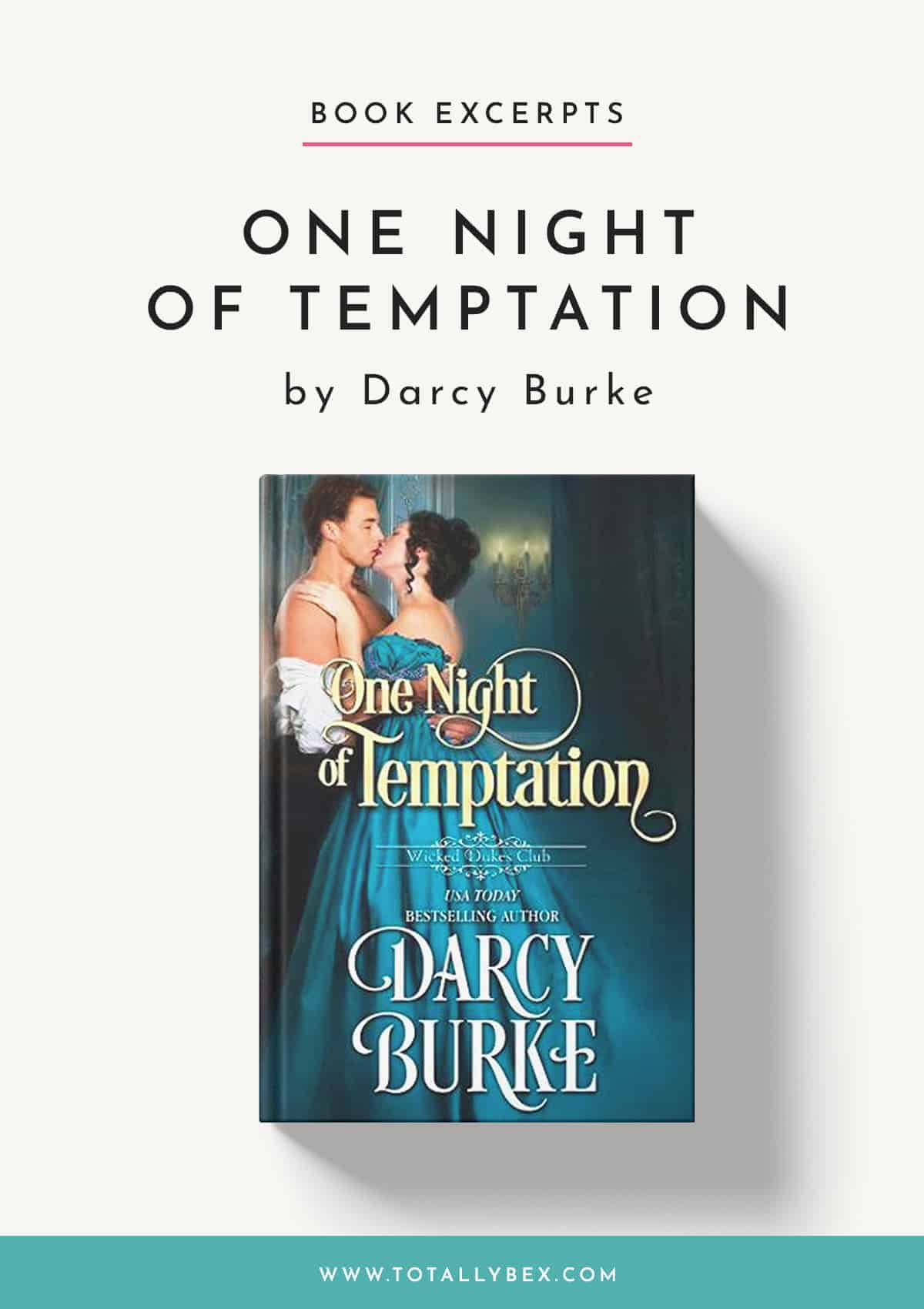 One Night of Temptation by Darcy Burke-Excerpt