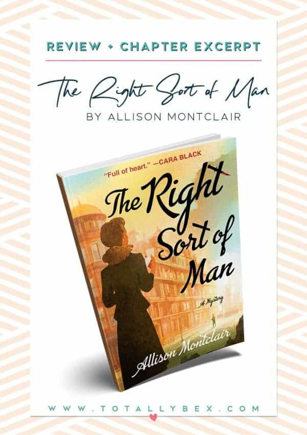 The Right Sort of Man by Allison Montclair - Book Review