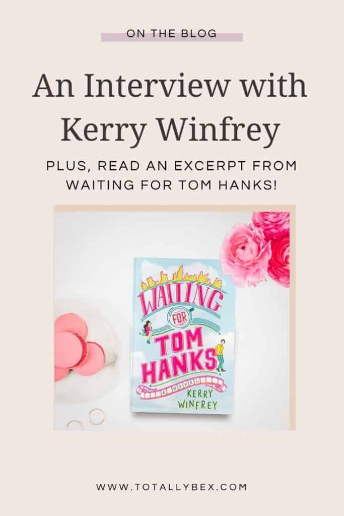 Waiting for Tom Hanks by Kerry Winfrey-Pinterest