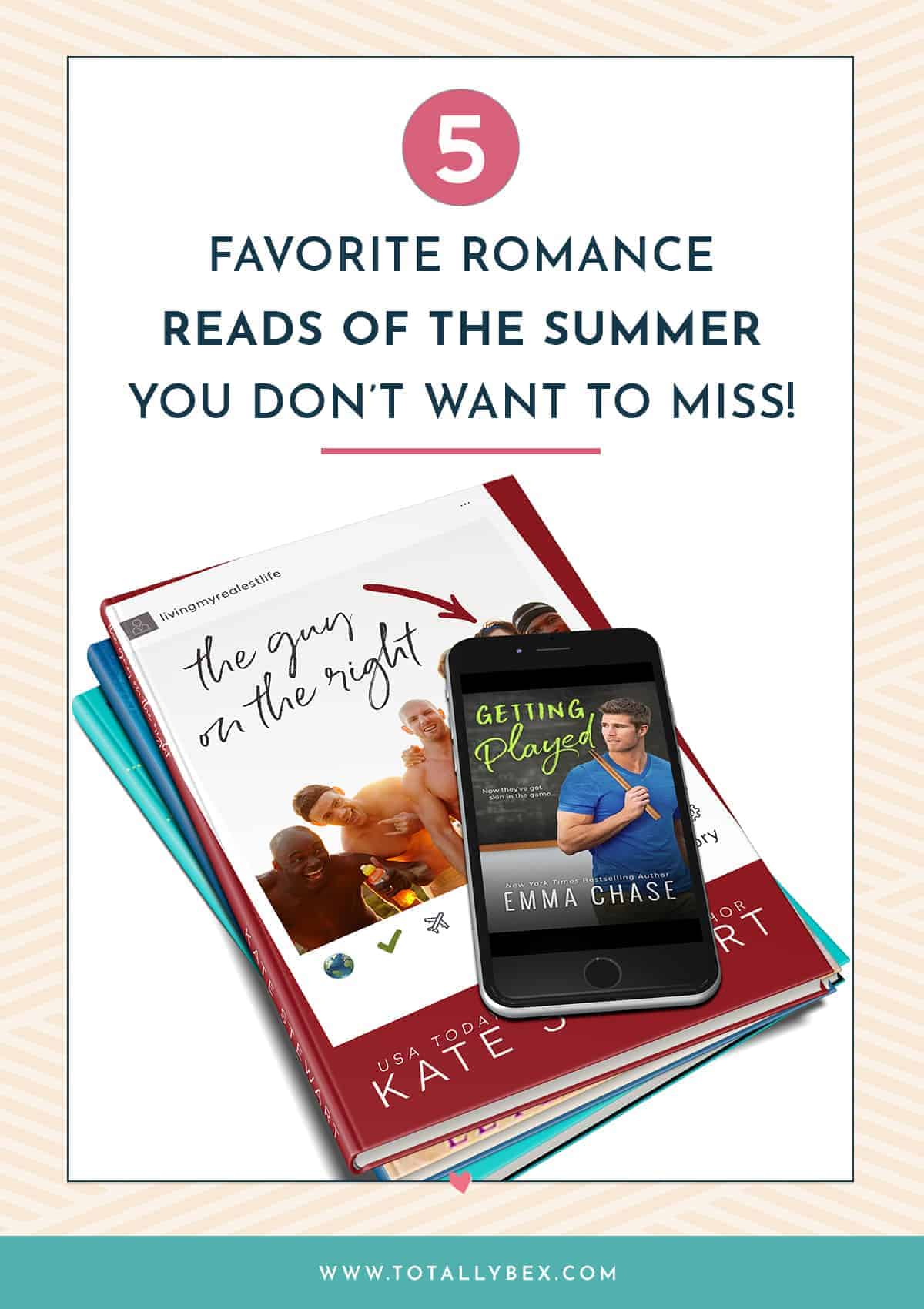The Best Romance Novels Summer 2019: all about the 5 romance novels from this summer by Kate Stewart, Helena Hunting, Abby Jimenez, Emma Chase, & Laylah Attar!