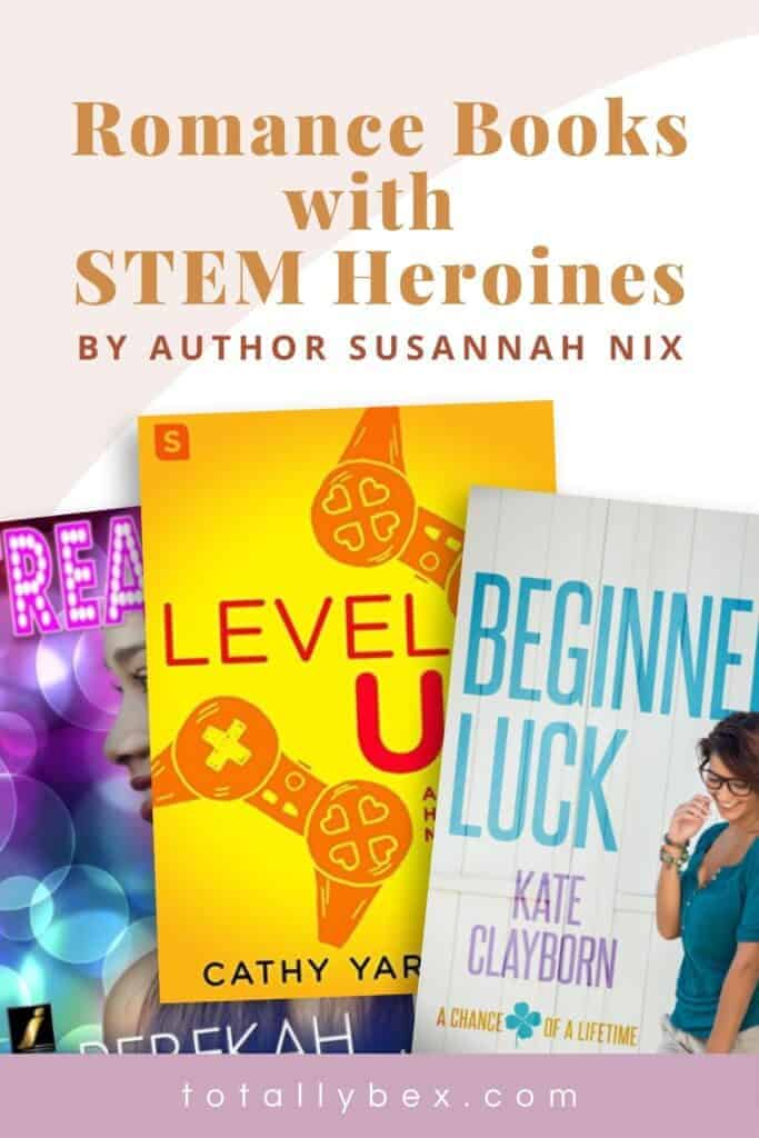 5 Must-Read Romance Books with STEM Heroines-pinterest2