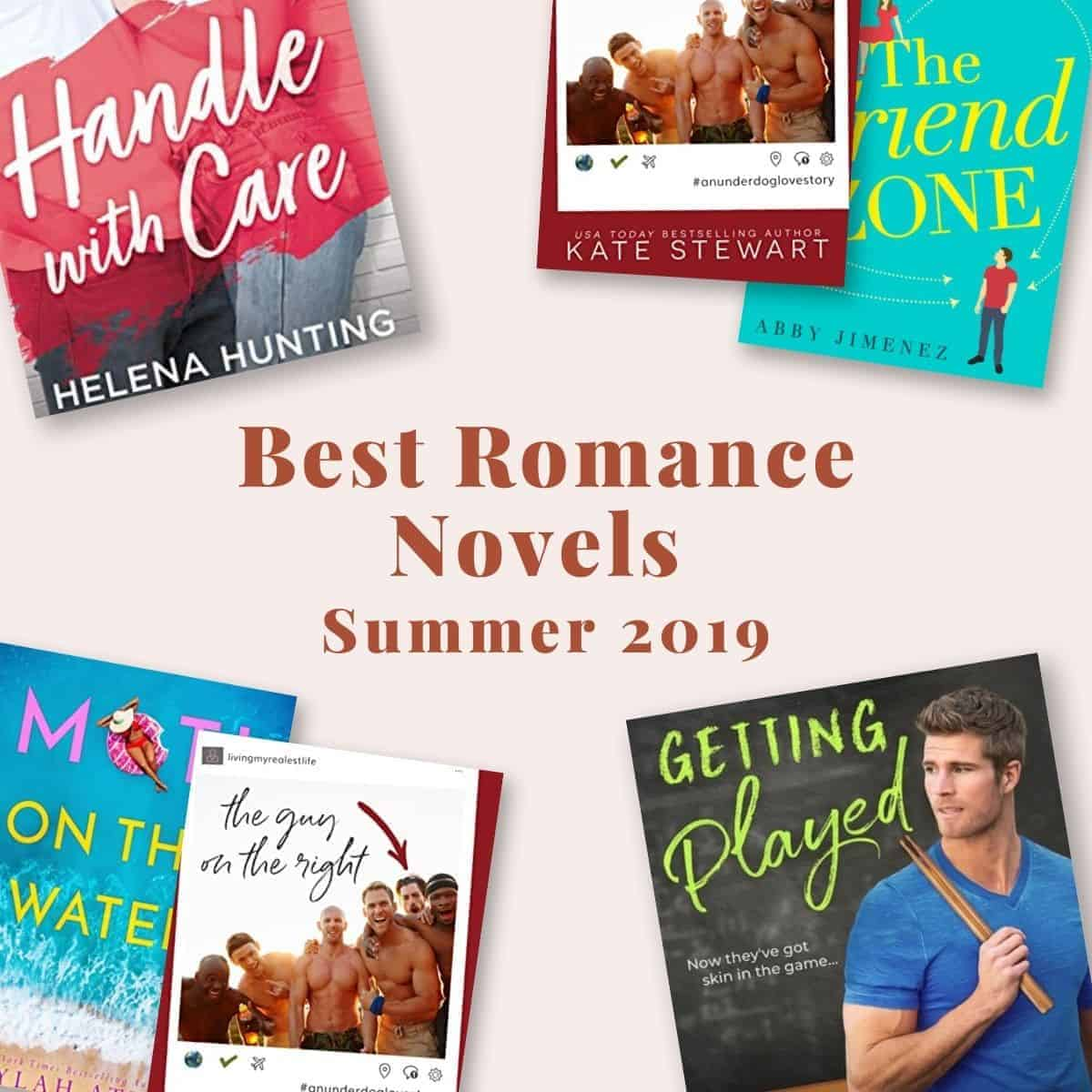 The Best Romance Novels Summer 2019: all about the 5 romance novels from this summer by Kate Stewart, Helena Hunting, Abby Jimenez, Emma Chase, and Leylah Attar!
