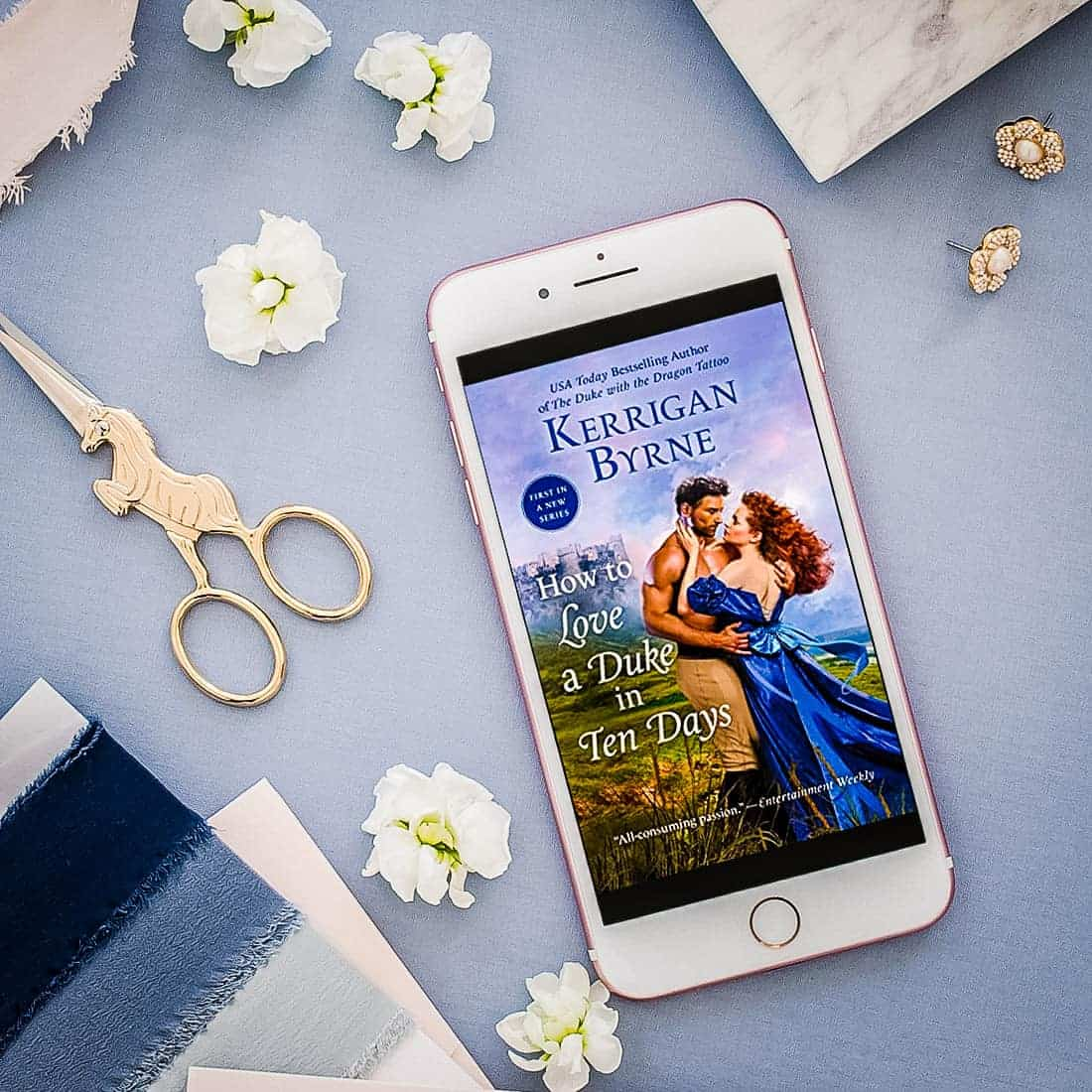 How to Love a Duke in Ten Days by Kerrigan Byrne-featured