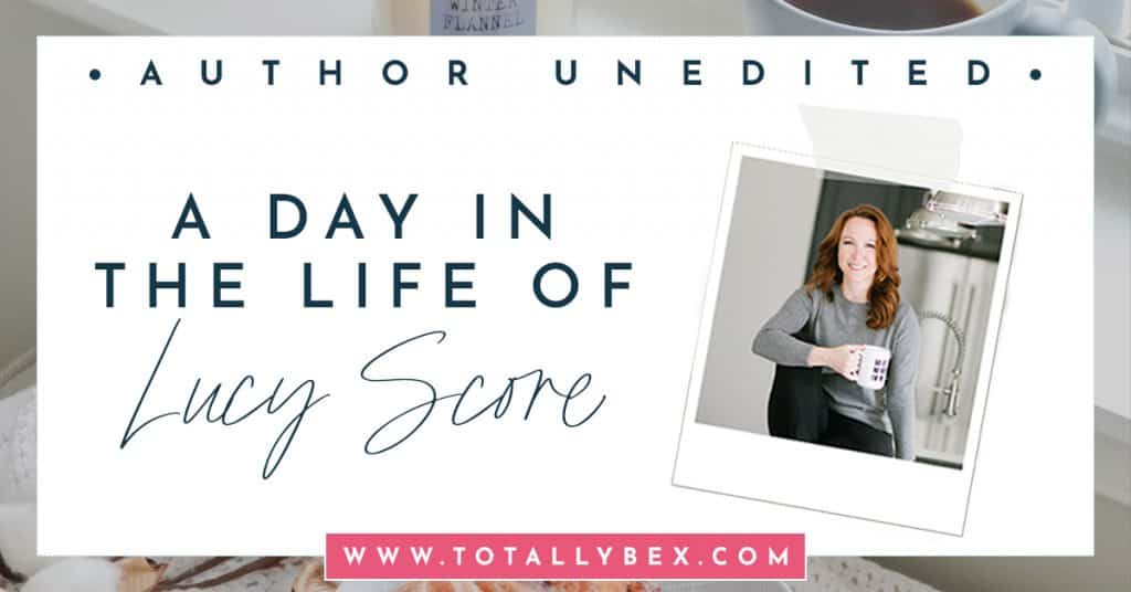 Author Unedited-A Day In The Life of Lucy Score-Social