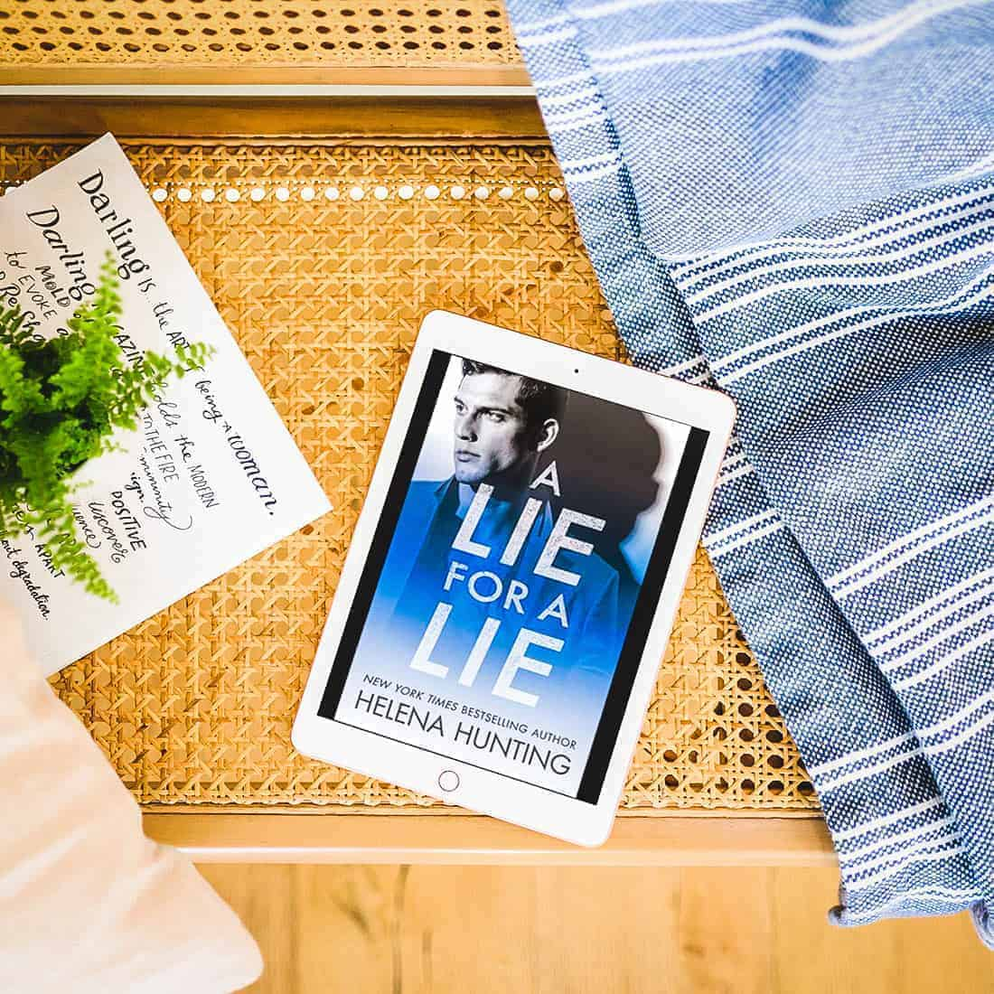 A Lie for a Lie by Helena Hunting-featured2