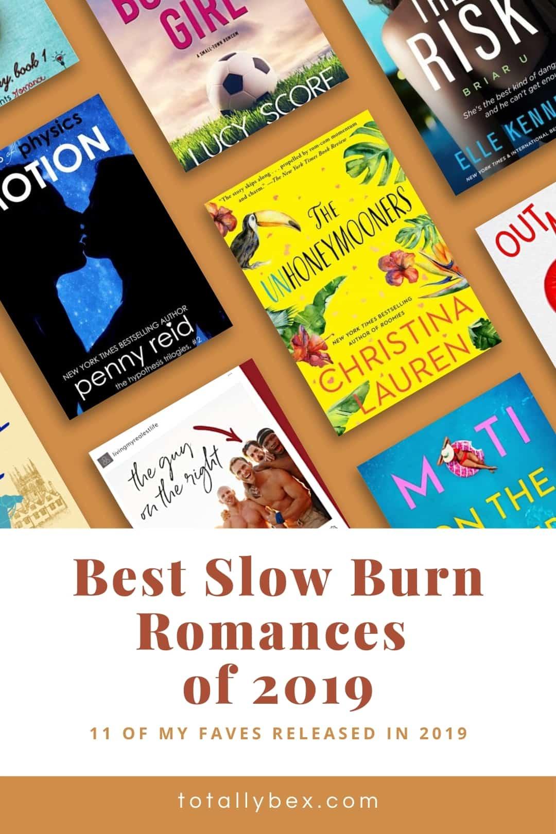 Best Slow Burn Romance Books of 2019-Pinterest