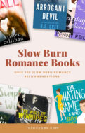 Slow Burn Romance Books-Pinterest