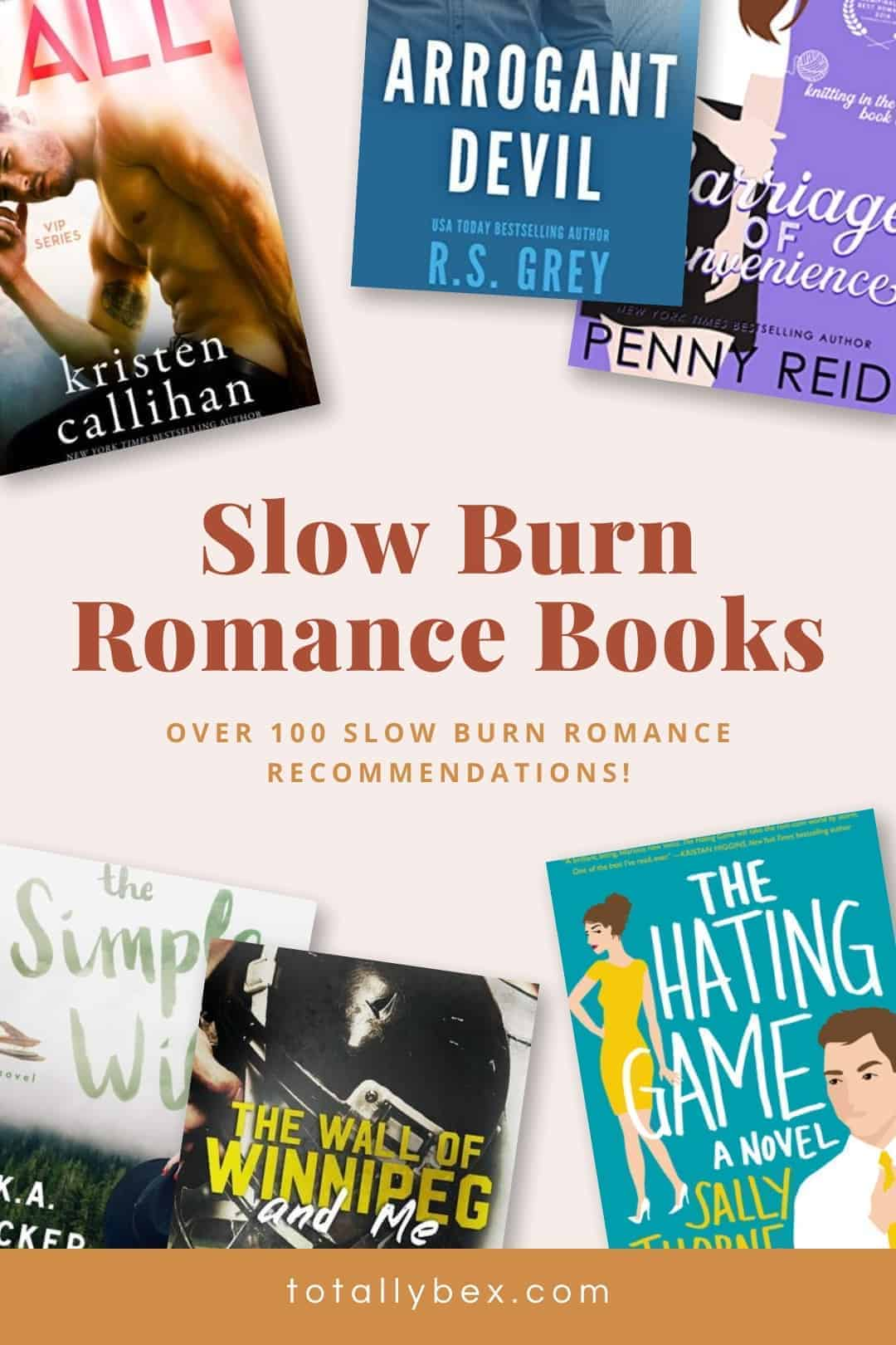 Slow Burn Romance Books-Pinterest