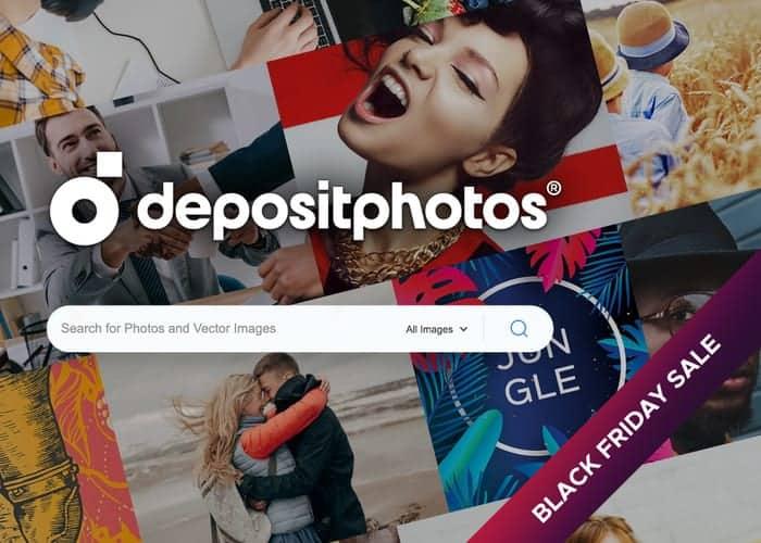 DepositPhotos BF Sale