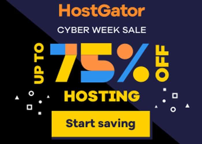 HostGator BF Sale