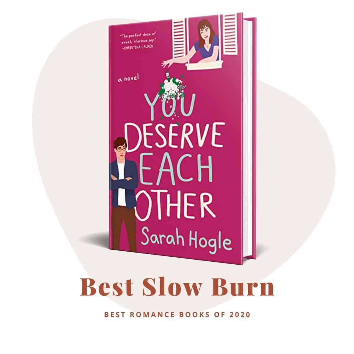 Best Romance Books 2020-You Deserve Each Other