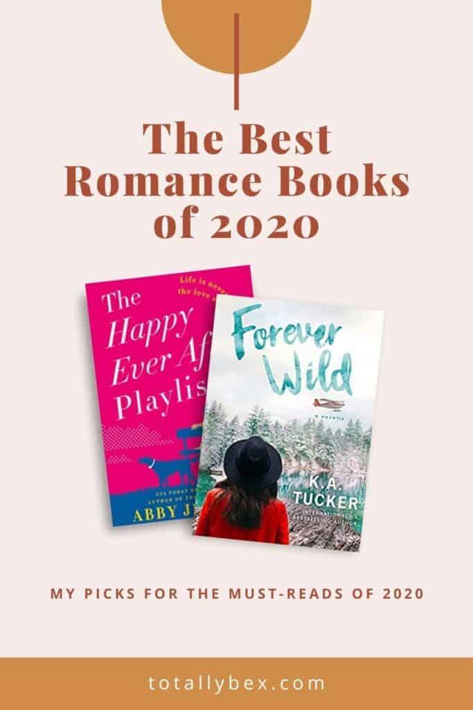 Best Romance Novels of 2020-Pinterest
