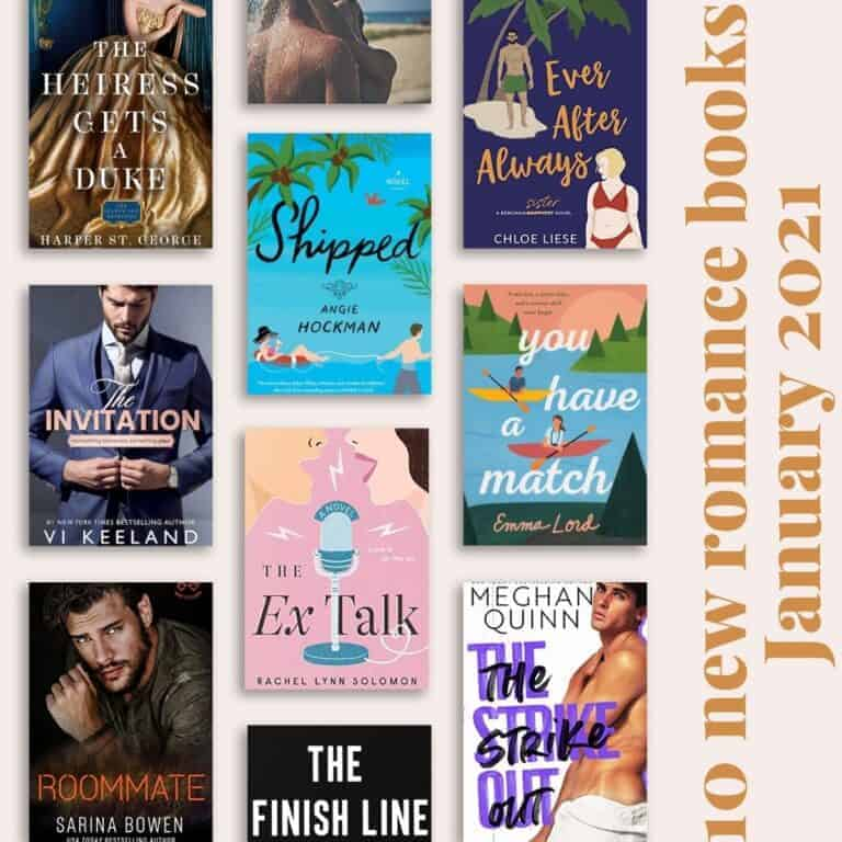 10 New Romance Books for January 2021-IG