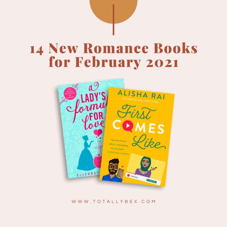 14 new romance books for february 2021