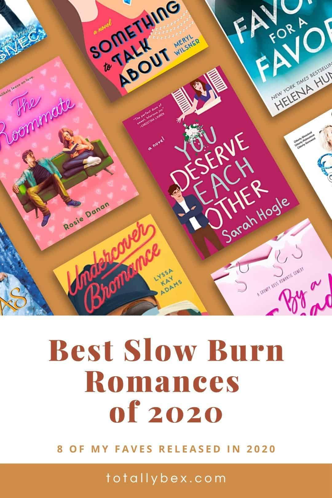 Best Slow Burn Romance Books of 2020-Pinterest