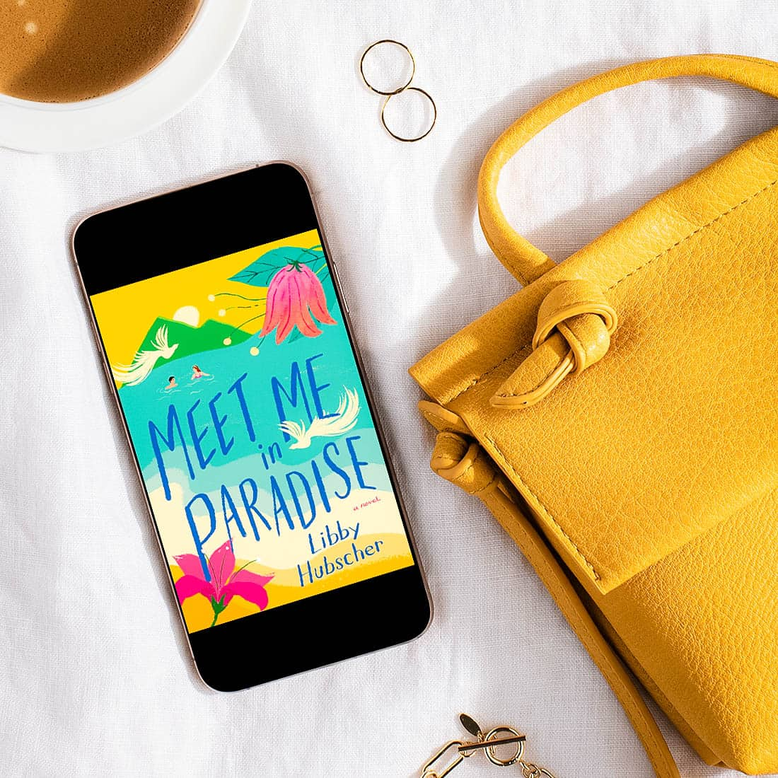 Meet Me in Paradise is a travel romance set on a tropical island and features a woman learning to live—and love—again after raising her free-spirited sister.