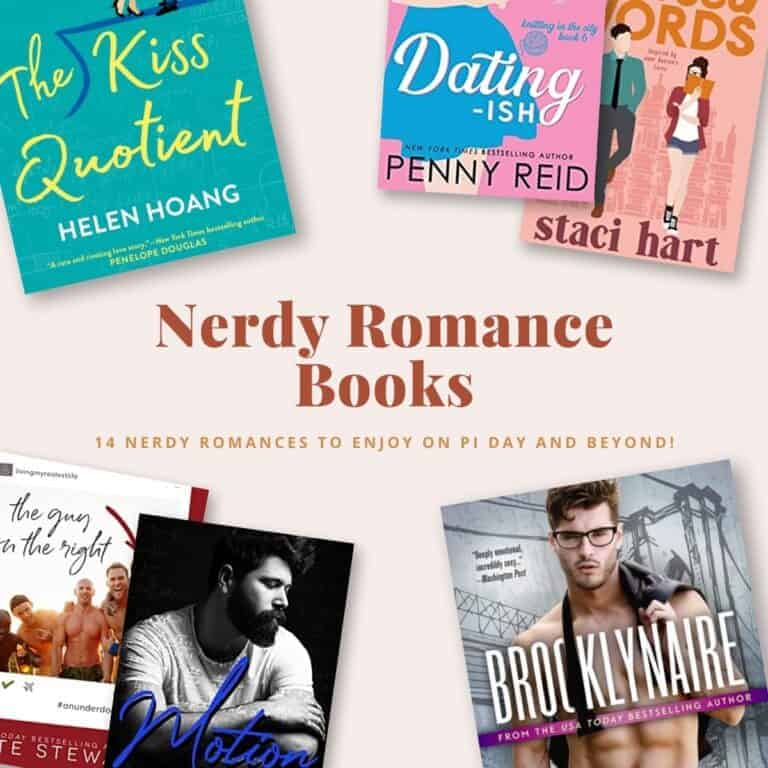 I love main characters who have big brains, so this list of 14 Nerdy Romance Books features my favorite geeky, nerdy, or dorky leads and romantic storylines