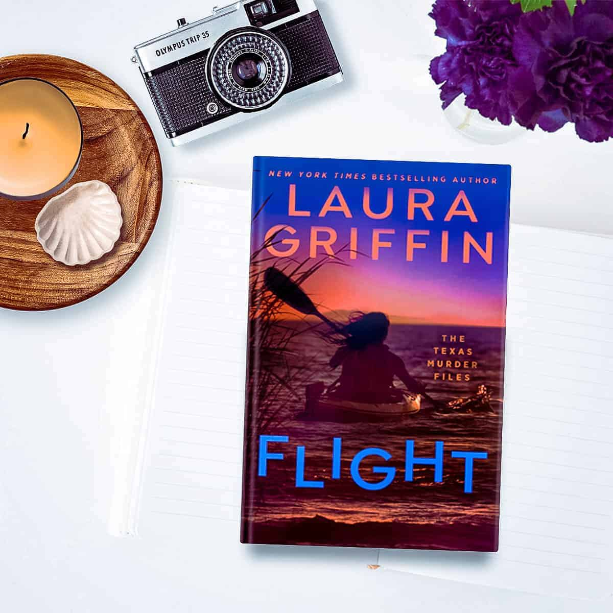 Laura Griffin is back with Flight, Book 2 in The Texas Murder Files series—a romantic suspense that will keep you glued to the pages with its twists and turns