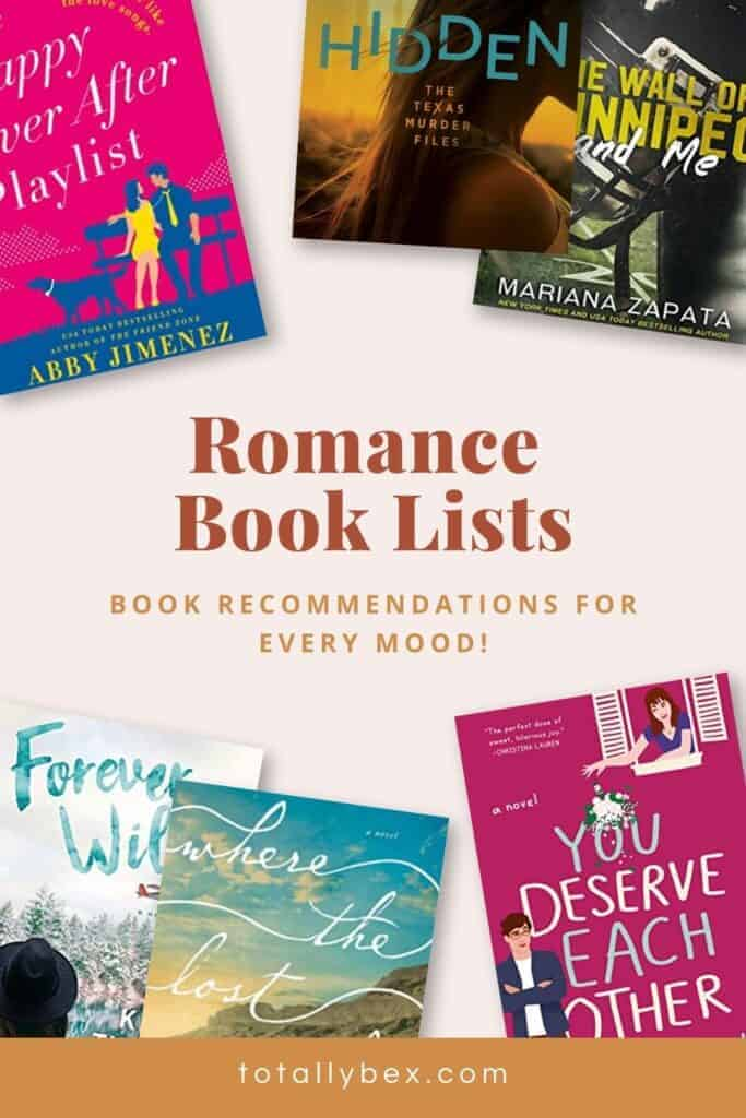Check out these Romance Book Lists to help you find your next amazing read! From slow burn romance books to smart romance novels, these lists have some of my favorite recommendations!