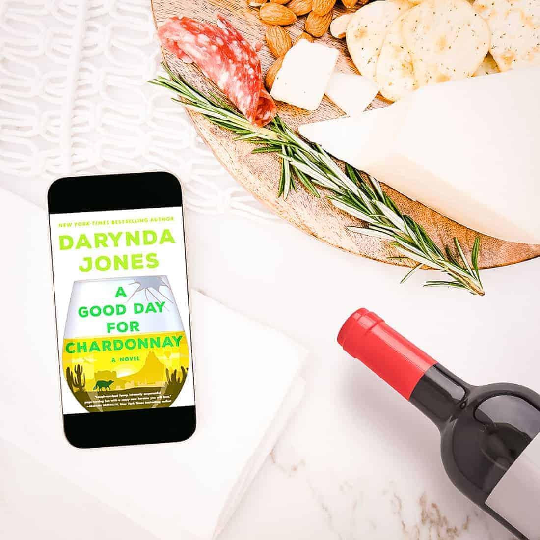 A Good Day for Chardonnay is jam-packed with sass and sarcasm, heart and humor, twists and turns, all packaged up and delivered the way only Darynda Jones can.