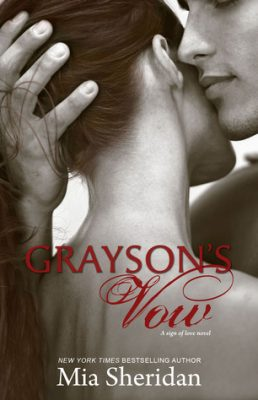 Grayson's Vow by Mia Sheridan | contemporary romance