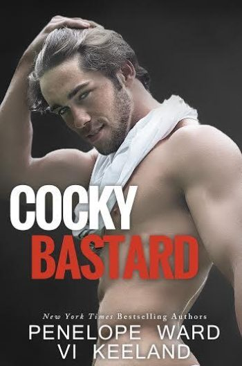 Cocky Bastard by Penelope Ward and Vi Keeland is a witty romantic comedy about a road trip and is filled with laugh-out-loud-funny moments and double entendres